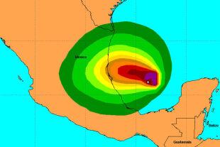 Burza tropikalna omiecie szyby naftowe