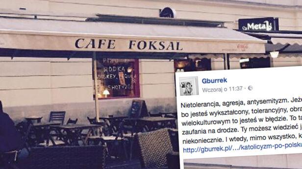 Autorka bloga opisała incydent w kawiarni facebook