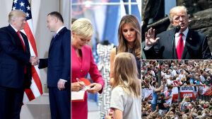 5 najważniejszych momentów wizyty amerykańskiej pary prezydenckiej