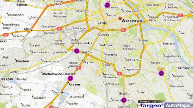 Utrudnienia w całym mieście grafika tvn24.pl