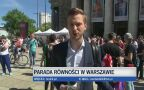 Parada Równosci w Warszawie