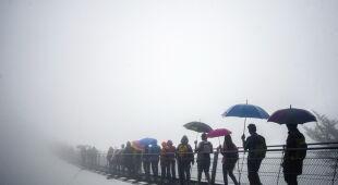 Nowo otwarty 270-metrowy most linowy w Szwajcarii