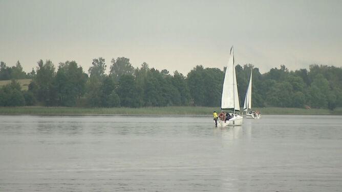 Ekomarina nad Jeziorem Ryńskim przyciąga żeglarzy