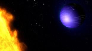 """Po raz pierwszy znamy kolor odległej planety. """"Ma głęboko lazurowy kolor"""""""
