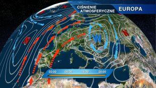 Ciepłe powietrze z zachodu Europy wyprze chłodne masy arktyczne