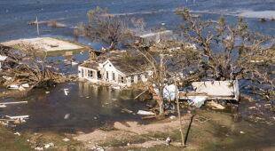Luizjana po przejściu huraganu Delta (PAP/EPA/TANNEN MAURY)