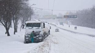 Ukraińskie przejścia graniczne zamknięte. Winna zima