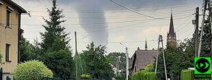 Lej kondensacyjny na Śląsku. Na nagraniach widać, jak wiruje