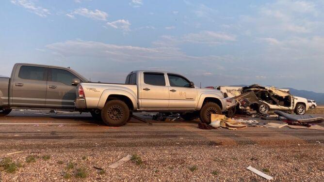 Karambol na autostradzie w Utah, siedem osób nie żyje. To skutek burzy piaskowej