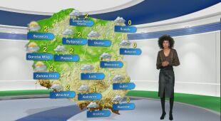 Prognoza pogody na poniedziałek 25.01