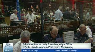 Pierwszy sukces PW-Sat (TVN24)